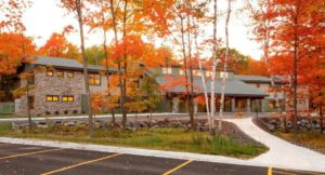 Amberwing center for youth fall exterior image