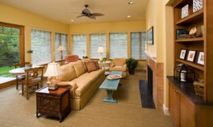 Solvay Hospice House sitting area